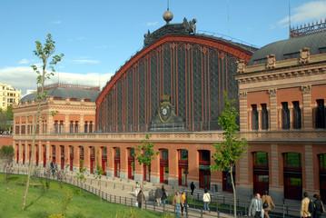 Fotorollo Bahnhof Gare d'Atocha