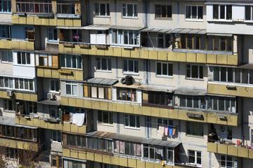 Residential Tower Block Facade