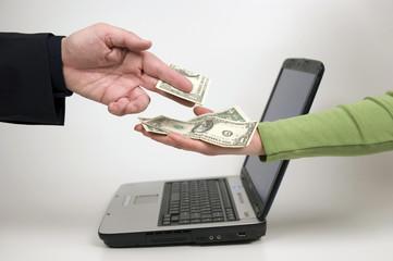 Fototapeta payment time