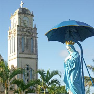 notre-dame des laves à Sainte-Rose,île de la Réunion