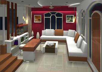 Livng Room or Hall