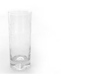Glass empty pure