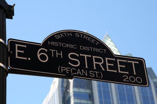 6th Street in Austin Texas