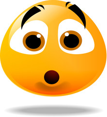 shocked smilley icon