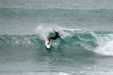 Surfing Angourie