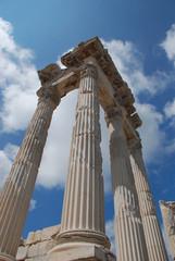 Traianus ( Trajan ) temple in pergoman acropolis