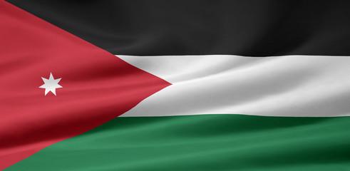 Jordanische Flagge