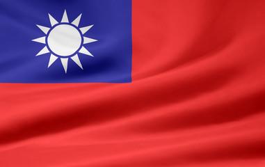 Taiwanesische Flagge