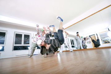 .break dancing