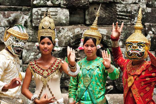 Cambodia; Angkor; dancer
