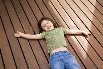 Child lying down