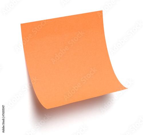 Get my orange photo message
