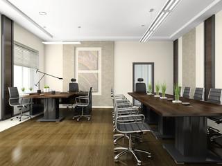 Modern interior for negotiations
