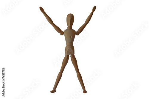 bonhomme en bois photo libre de droits sur la banque dimag