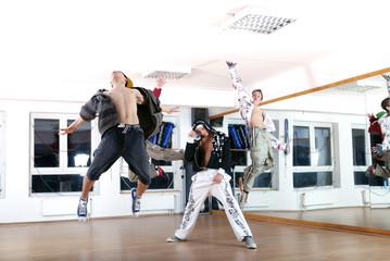 .jumping boys