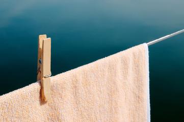 Handtuch trocknen