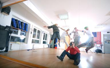 .jumping