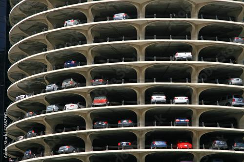 Quot Circular Parking Garage At Marina City Chicago Quot Stock