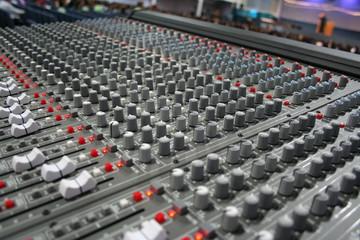 mezcladora de audio, audio mixer