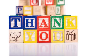 """Thank You"" Blocks"
