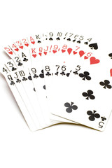 cards on white