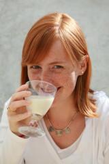 femme lait