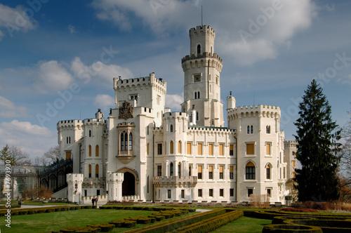 Castle Hluboka Built In Tudor Gothic Style