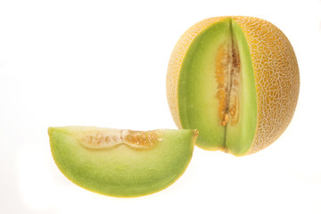 Melon and section