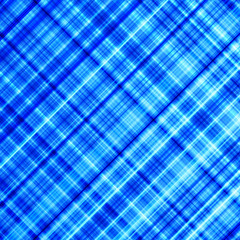 Vibrant blue and cyan diagonal lines abstract background.