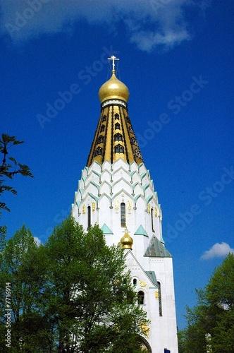 russische ged chtniskirche in leipzig stockfotos und lizenzfreie bilder auf bild. Black Bedroom Furniture Sets. Home Design Ideas