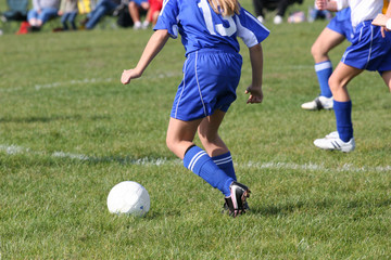 Youth Teen Soccer Player in Action 13
