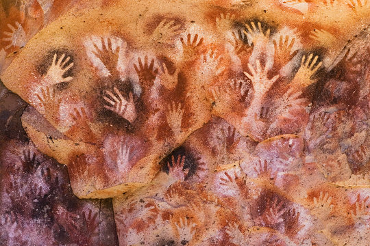 Hands Cave, World Heritage in Patagonia