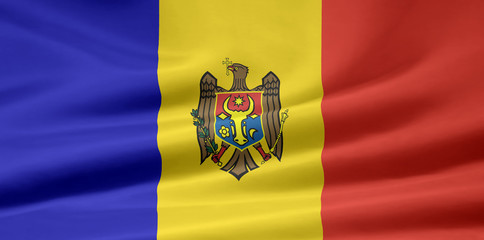Moldawische Flagge
