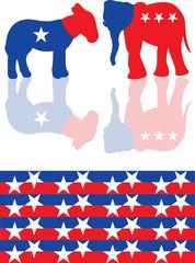 Vector political icons