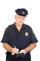 Police Officer - Parking Ticket