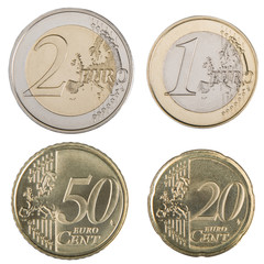 Large Euro Coins