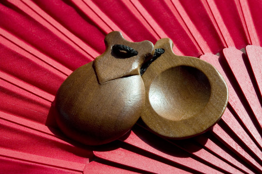 castanets and fan