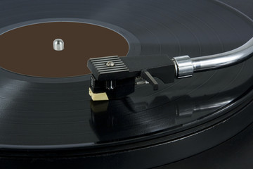 record player of  plates