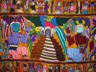 tapisserie du guatemala