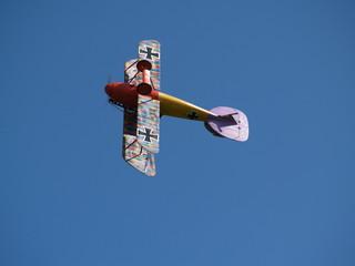RC Motor Flugzeug Weltkrieg Looping
