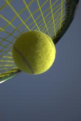 Outdoor Tennis Play