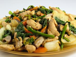Stir-Fried Chicken & Vegetables