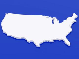 3d map USA