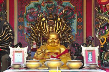 Thailand Ayutthaya Wat Phanan Choeng