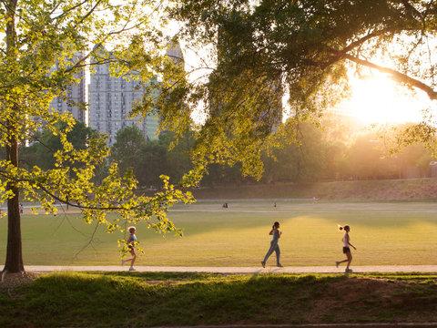 Piedmont Park in Atlanta, Georgia