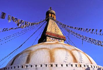 stupa de bodnath au nepal