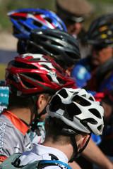 Casques de cyclistes