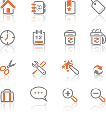 iReflect set 1 - Web and Internet Icons