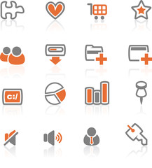 iReflect set 2 - Web and Internet Icons