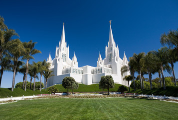Acrylic Prints Temple San Diego LDS Temple